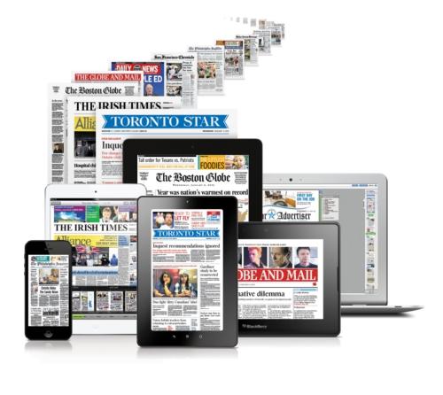 سرایت موج توقف انتشار چاپی مطبوعات از آمریکا به اروپا